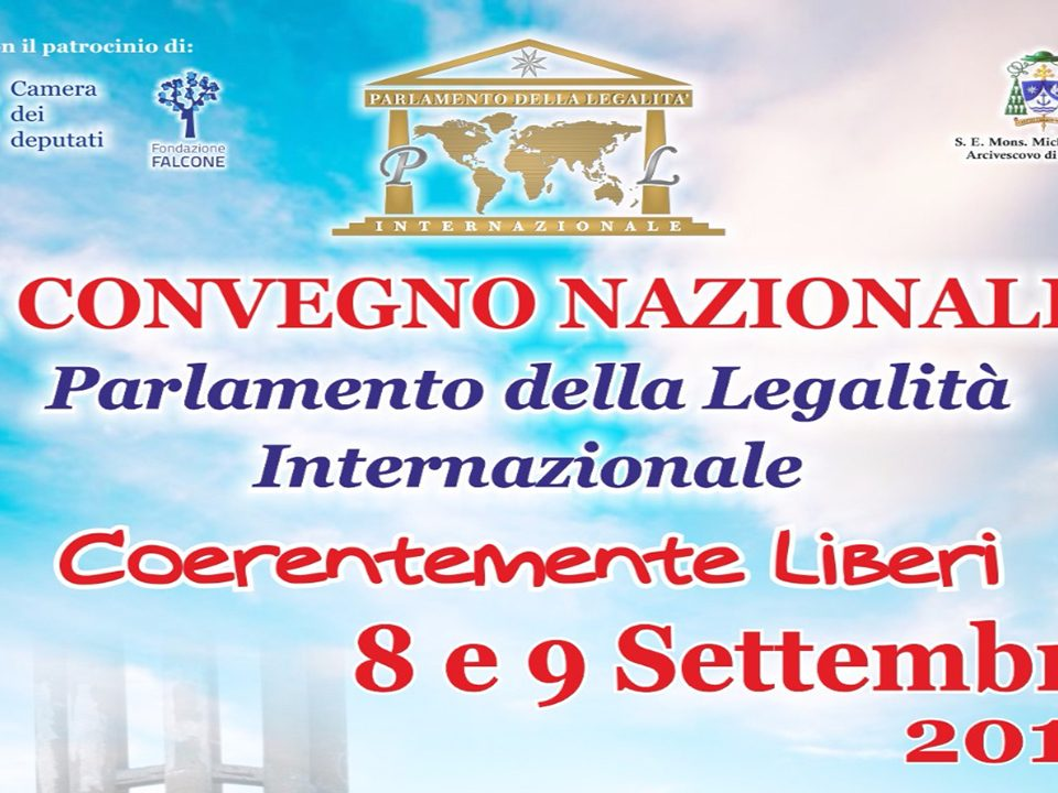 1° Convegno Nazionale del Parlamento della Legalità Internazionale