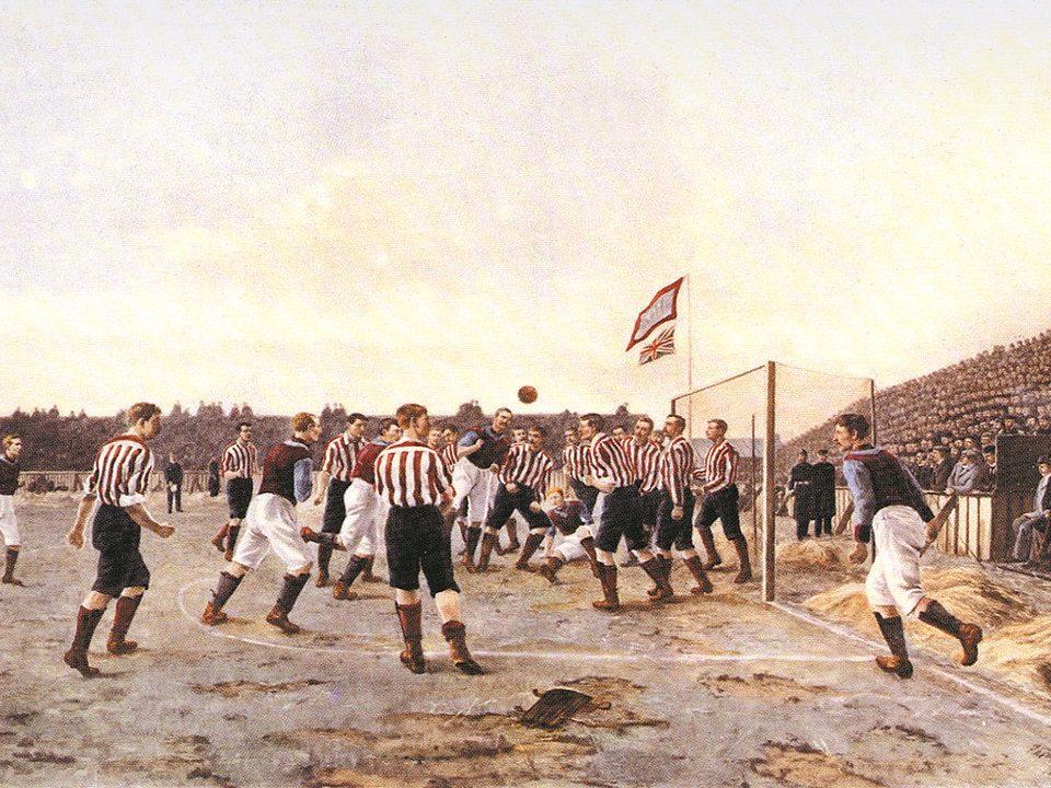 la nascita del calcio associazione sportiva internazionale