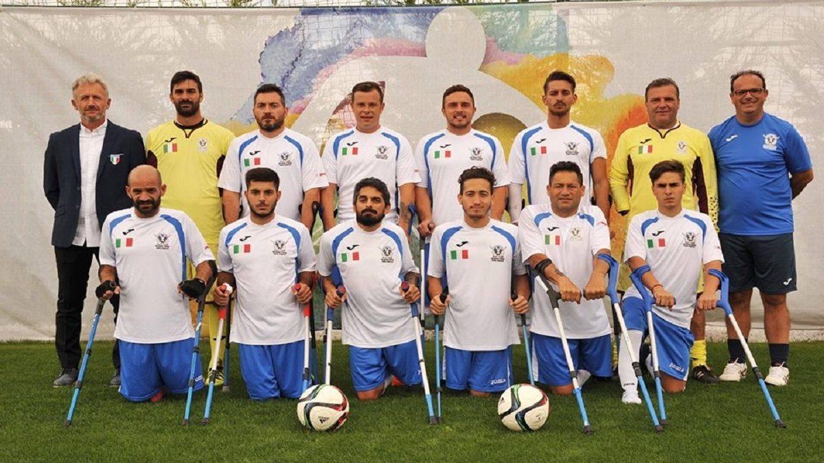 nazionale calcio amputati associazione sportiva internazionale