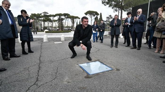 Walk of fame di Roma associazione sportiva internazionale 2