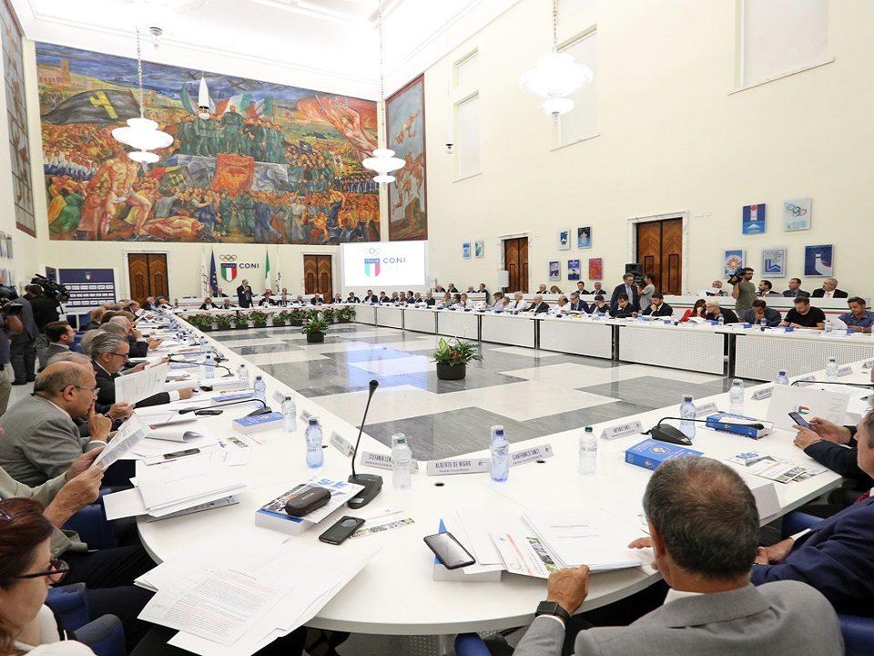 Consiglio Nazionale del Coni Associazione Sportiva Internazionale